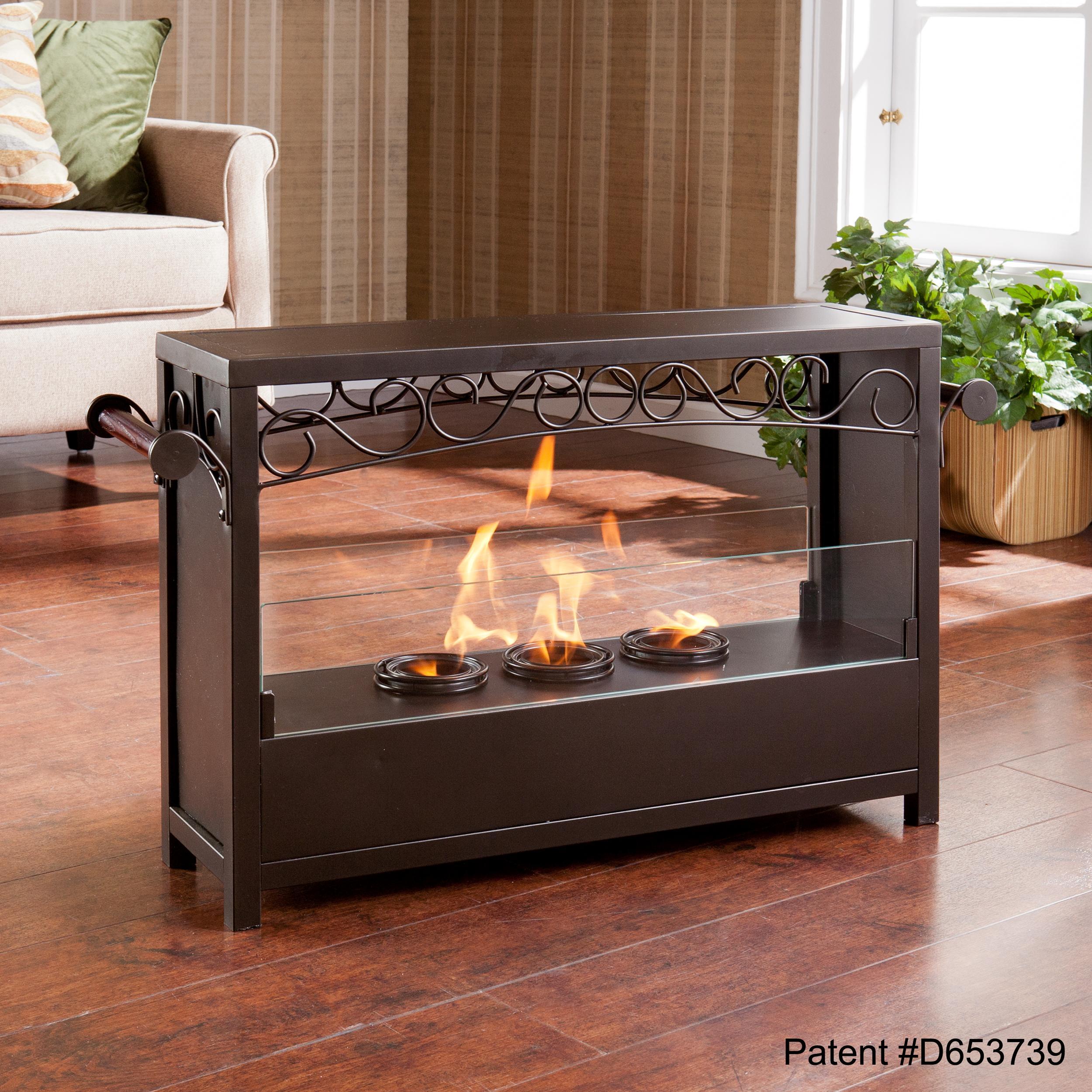 Amazon.com: SEI AMZ1485 Acosta Portable Indoor/Outdoor Fireplace ...