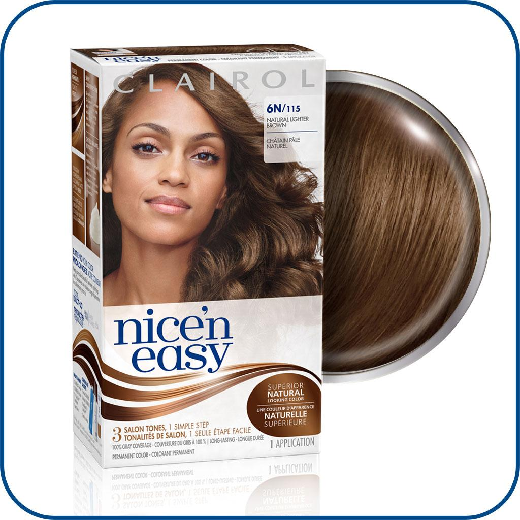 nice n easy hair colour instructions