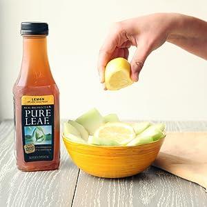 Pure leaf iced tea lemon