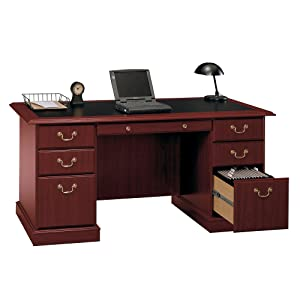 bush bush furniture office home office commercial grade saratoga cherry home office furniture cherry finished