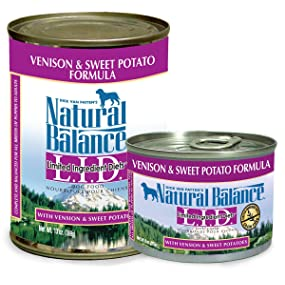 limited ingredient diet wet dog food venison and sweet potato