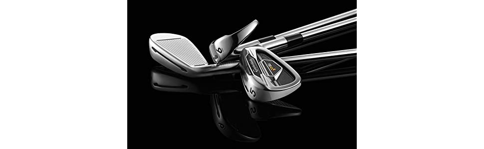 Amazon.com: TaylorMade Set de palos de hierro PSI: Sports ...