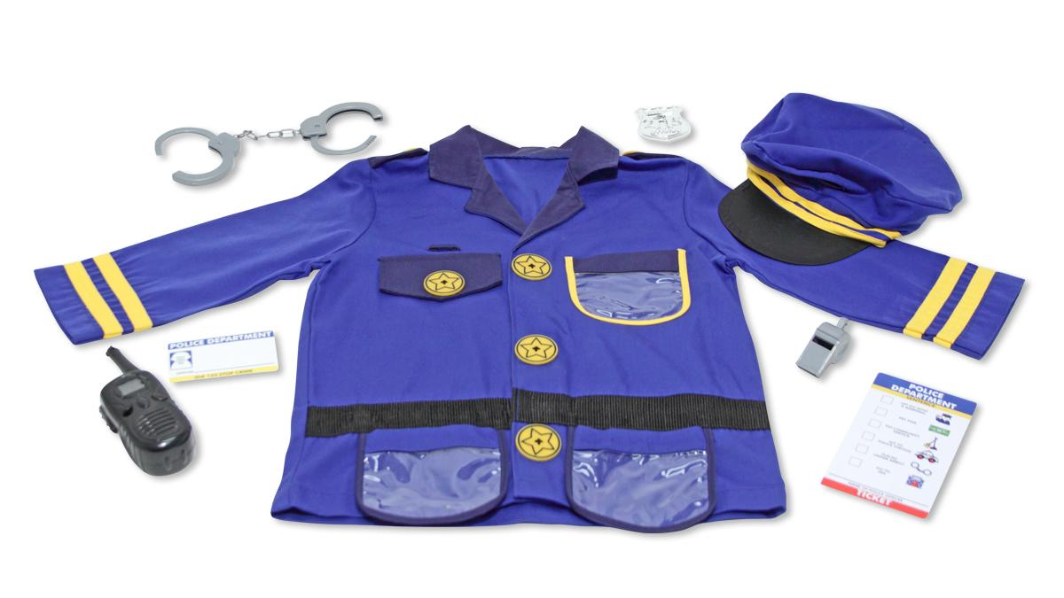 Amazon.com: Melissa & Doug Police Officer Role Play