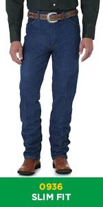 Wrangler Cowboy Cut Slim Fit Jean 0936
