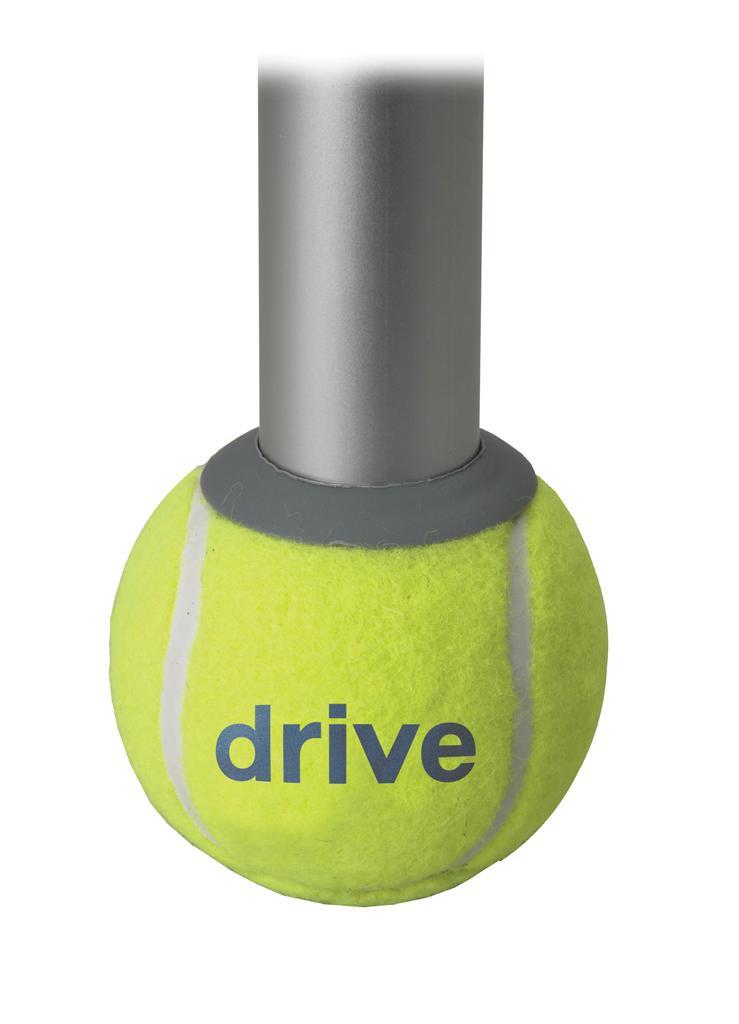 Amazon Com Drive Medical Deluxe Walker Rear Tennis Ball