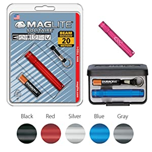 Maglite, Blister, Box, Incandescent, 1-Cell, Single-Cell, AAA