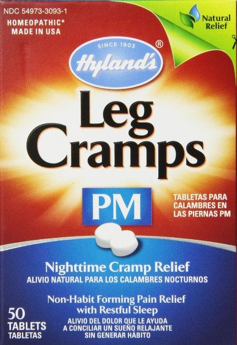 Amazon Com Hyland S Night Time Leg Cramps Pm Tablets