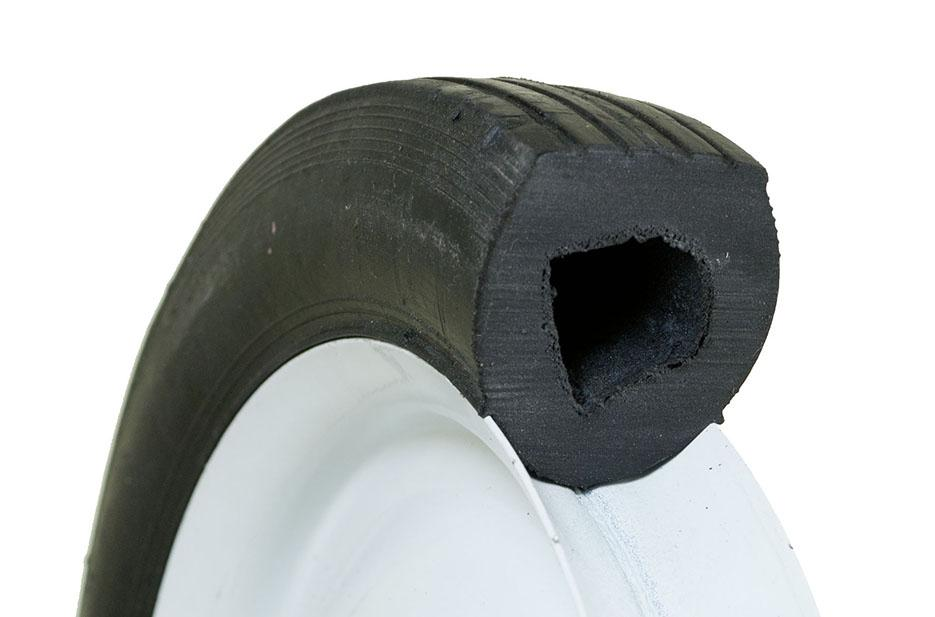 "How To Read Tire Size >> Amazon.com : Marathon 8x1.75"" Semi-Pneumatic Tire on Wheel with Centered Hub : Wheelbarrows ..."