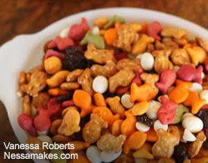 Goldfish Crackers Trail Mix