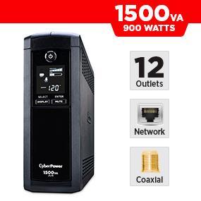 CyberPower CP1500AVRLCD Battery Backup UPS