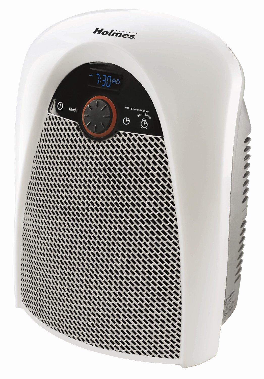 Holmes digital bathroom heater fan with pre for Small bathroom heater