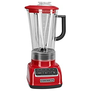 Kitchenaid Ksb1575er 5 Speed Diamond Blender With 60 Ounce Bpa Free Pitcher Empire Red