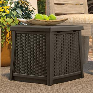 Perfect BMDB1310   End Table With Storage