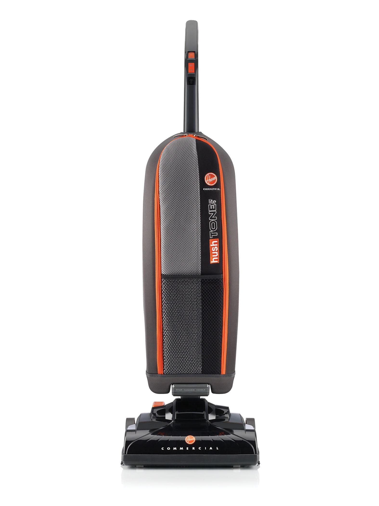 Hoover Commercial Hush Tone Lite Bagged Upright Vacuum