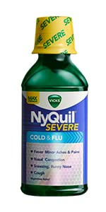NyQuil Severe Cold & Flu Relief