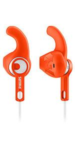 Philips ActionFit SHQ1300 Sports In-ear Headphones