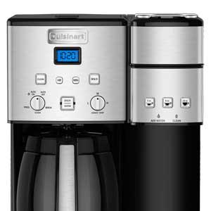 Cuisinart Coffee Maker Capsule : Amazon.com: Cuisinart SS-15 12-Cup Coffee Maker and Single-Serve Brewer, Stainless Steel ...