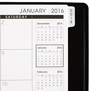 at a glance 3 year monthly planner yearly planner monthly planner