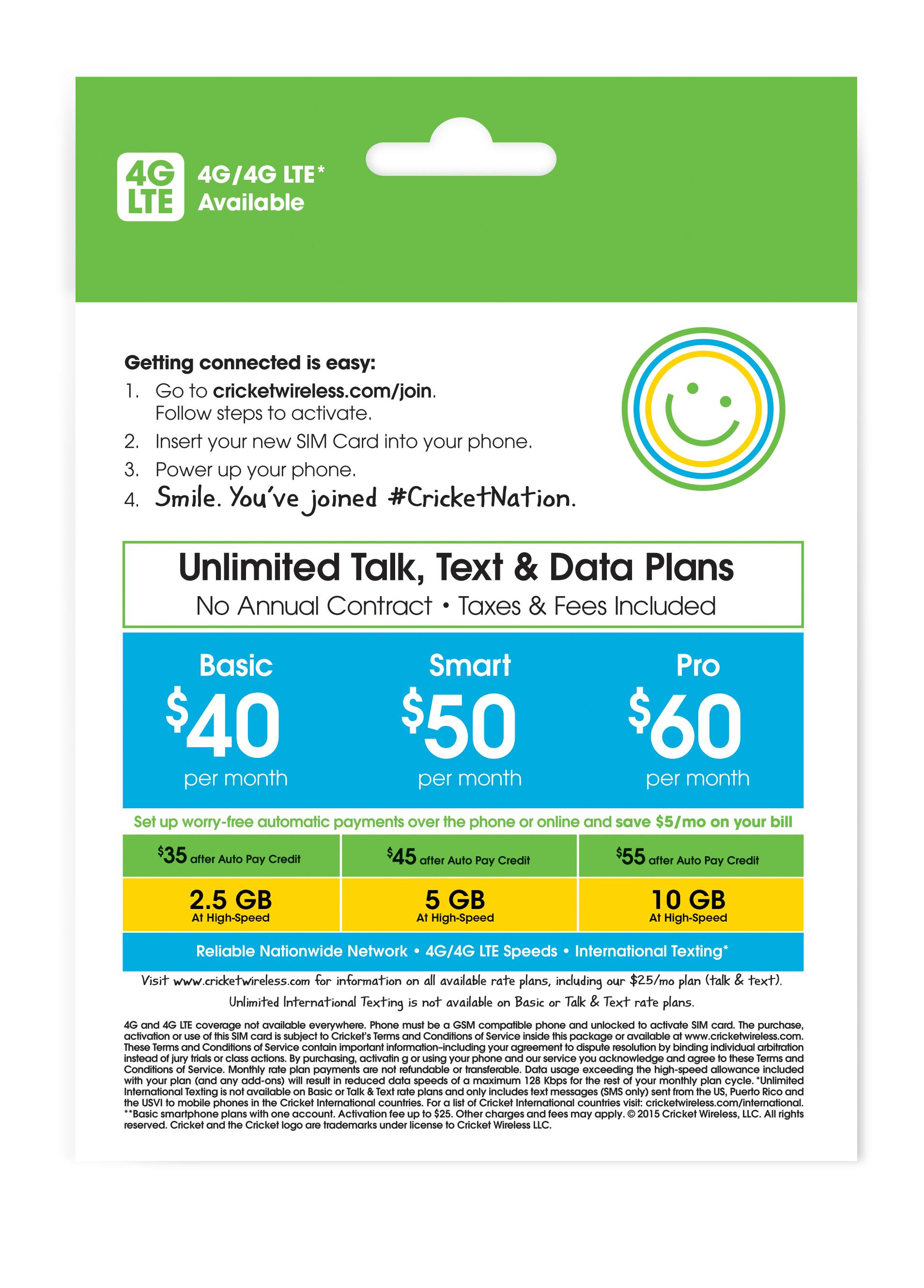 Cricket wireless customer service - View Larger