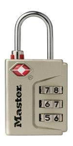 4687DNKL Instant Alert TSA Accepted Luggage Lock