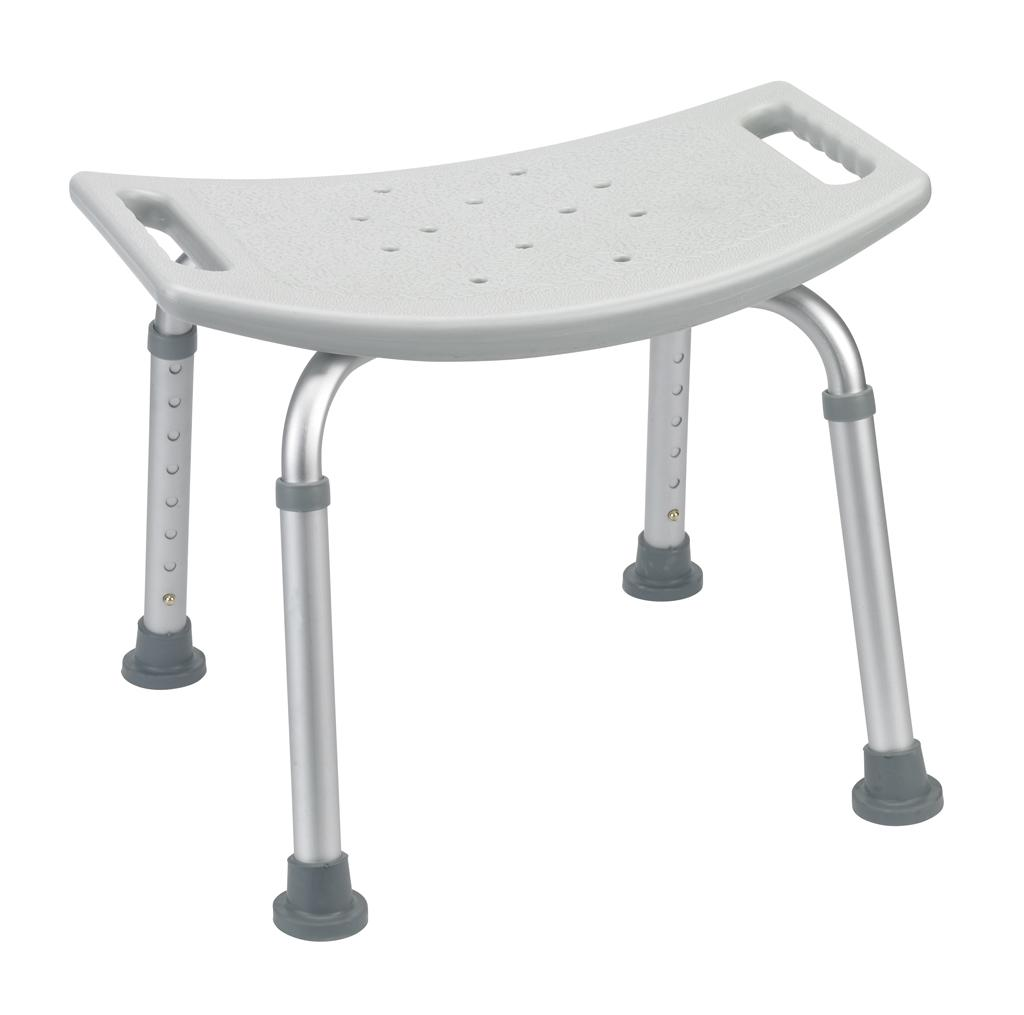 Amazon.com: Drive Medical Bath Bench without Back, Grey: Health ...