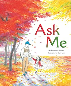 Ask Me, picture book, finished book, Suzy Lee