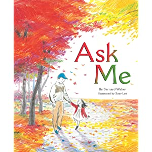 Ask Me, picture book, Suzy Lee, sketches