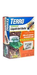 TERRO Outdoor Liquid Ant Bait 6 Pack