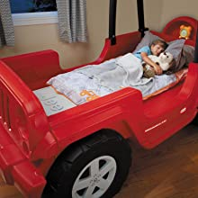 Amazon Little Tikes Jeep Wrangler Toddler To Twin Bed
