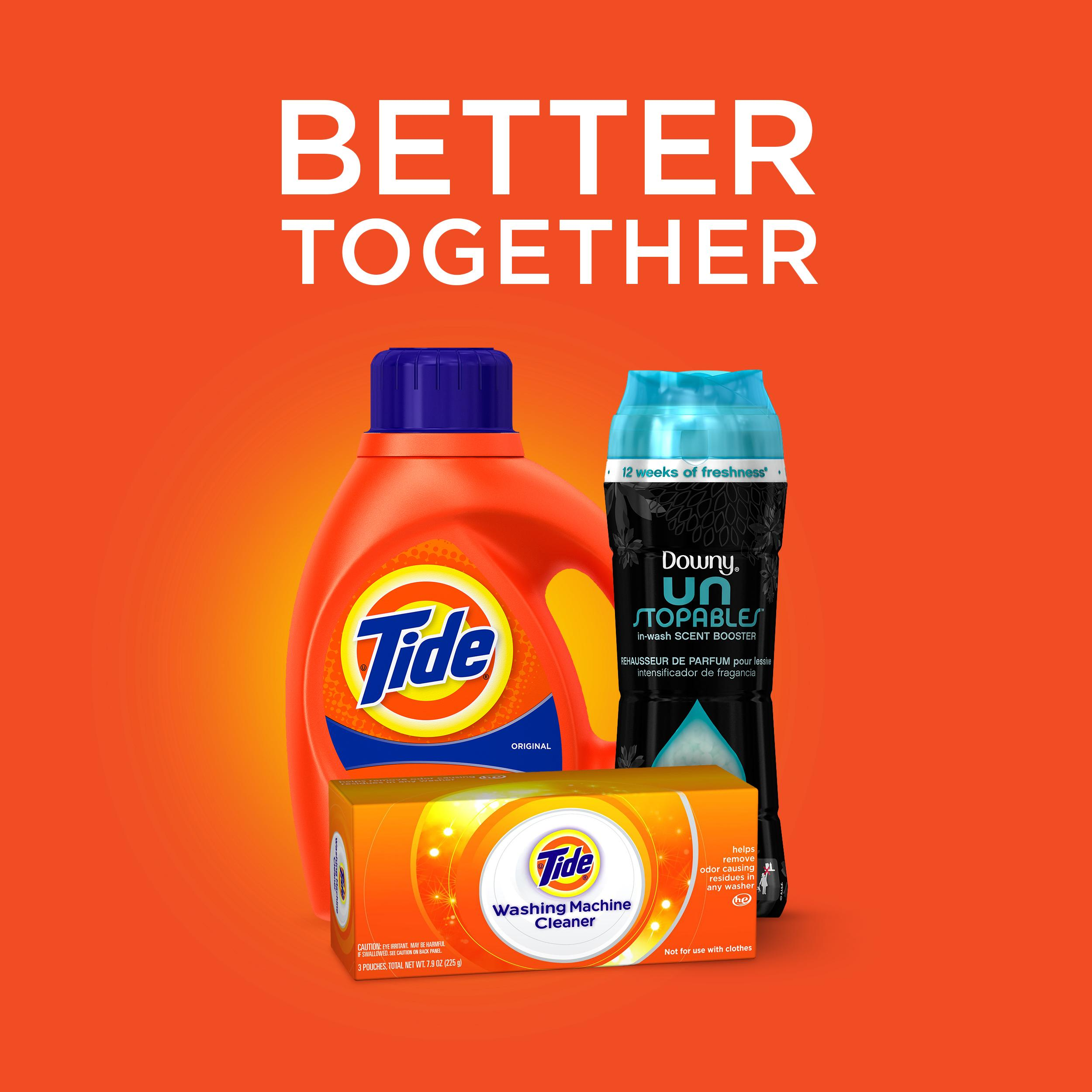 Amazon.com: Tide Original Scent Liquid Laundry Detergent, 32 loads, 50 fl oz (Packaging May Vary ...