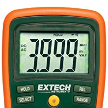 Extech, EX430, RMS, multimeter, accurate, electronic interference, commercial, industrial