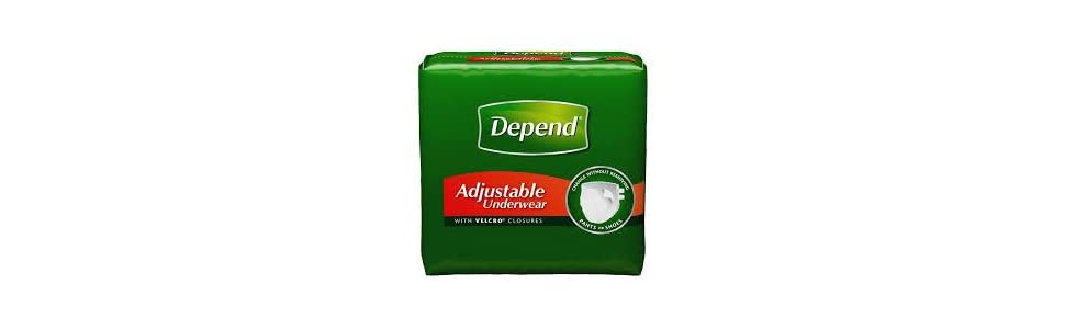 incontinence products, incontinence supplies, depend adult diapers, depends