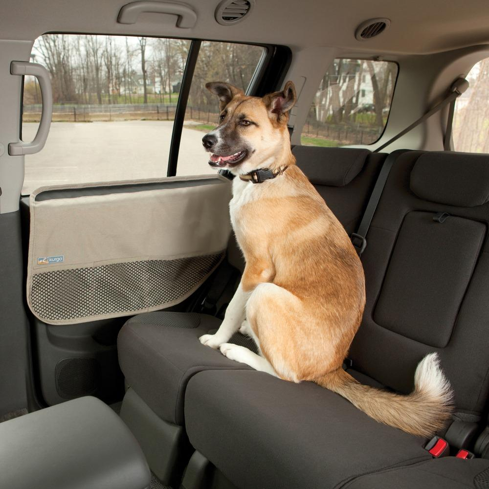 From the manufacturer & Amazon.com : Kurgo Car Door Dog Cover- Includes 2 Pet Car Door ... Pezcame.Com