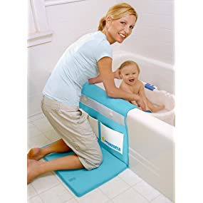 aquatopia deluxe safety easy bath kneeler blue baby. Black Bedroom Furniture Sets. Home Design Ideas