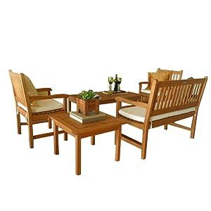 Amazonia Milano 5 Piece Seating Set