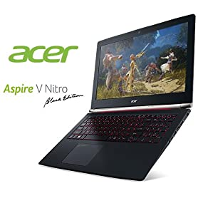 0f016d5fc4a2f7 Acer Aspire V15 Nitro Black Edition VN7-592G-71ZL 15.6-inch Full HD Laptop