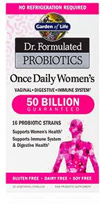 dr formulated once daily womens vaginal digestive immune system