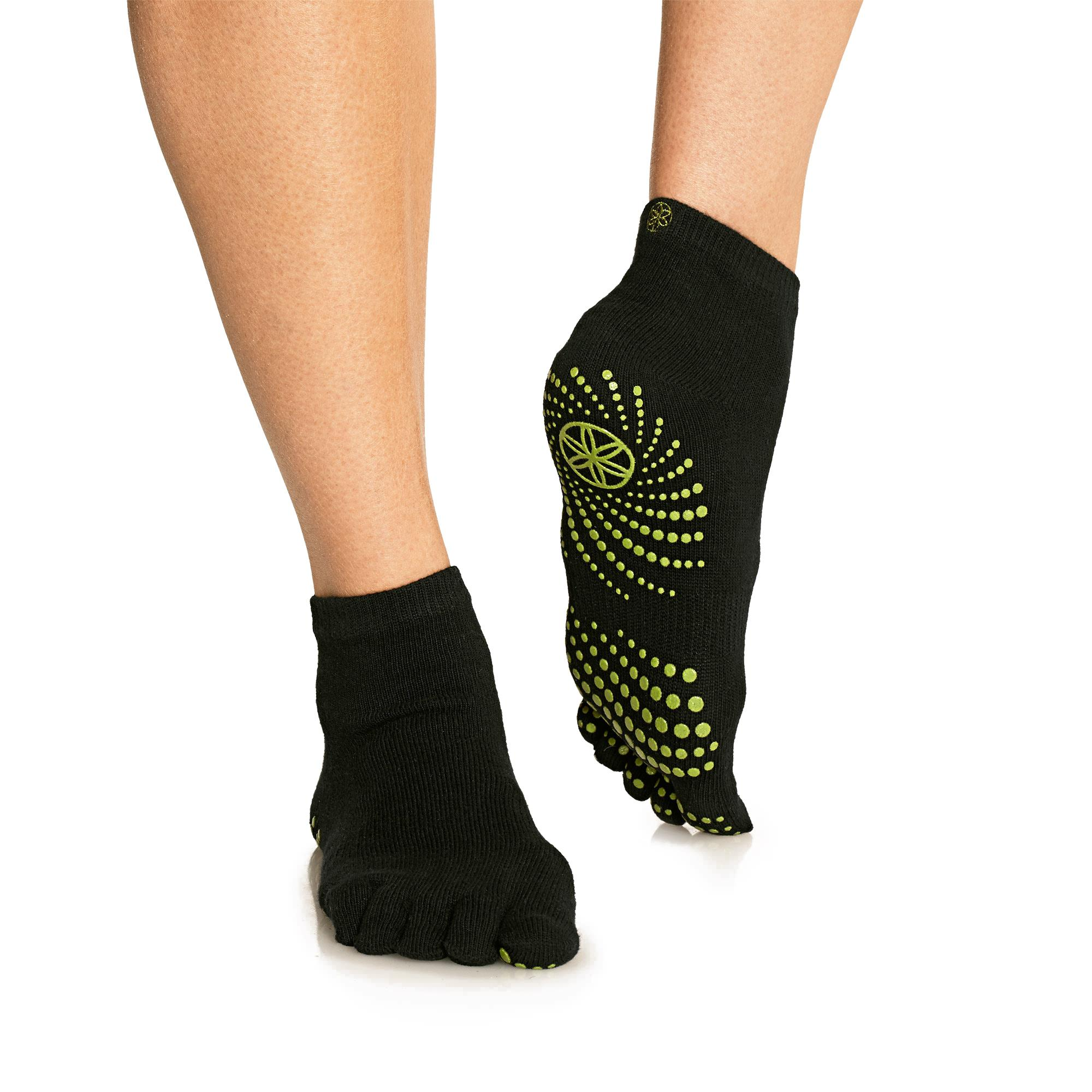 Amazon.com : Gaiam Yoga Socks (Dot Pattern May Vary) : Sports & Outdoors