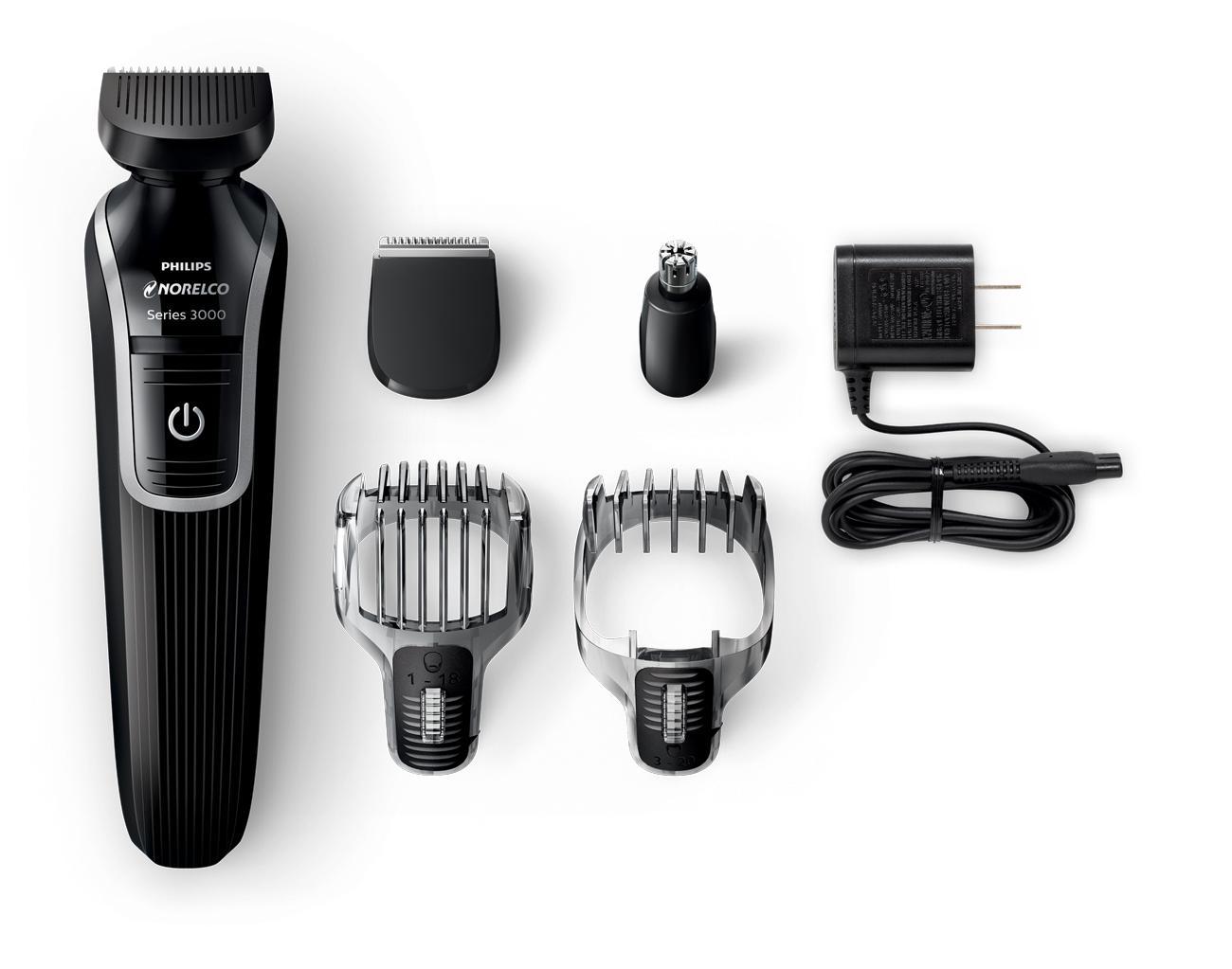electric shaver philips norelco multigroom men trimmer facial hair clipper cut ebay. Black Bedroom Furniture Sets. Home Design Ideas