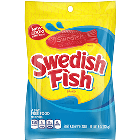 Amazon Swedish Fish Mini Soft Chewy Candy Original 14 Ounce