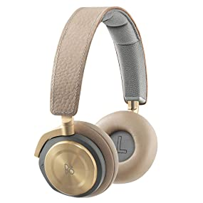 B&O PLAY by Bang & Olufsen BeoPlay H8 wireless active noise cancelling on ear headphones gray hazel