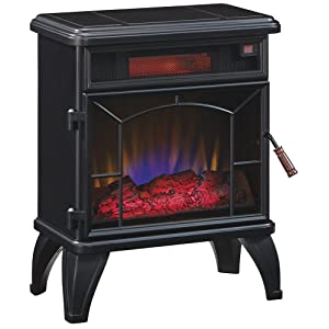 Amazon.com: Duraflame DFI-550-0 Mason Freestanding Infrared Quartz ...