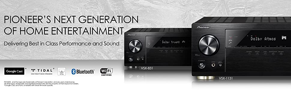 VSX-831 - Crank Up Your Audio Experience