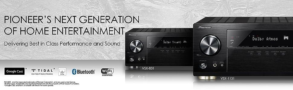 VSX-1131 - The True Sound of Fidelity