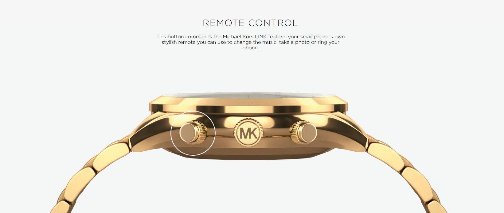 Michael Kors Laukku Ei Aito : Michael kors access hybrid gold slim runway