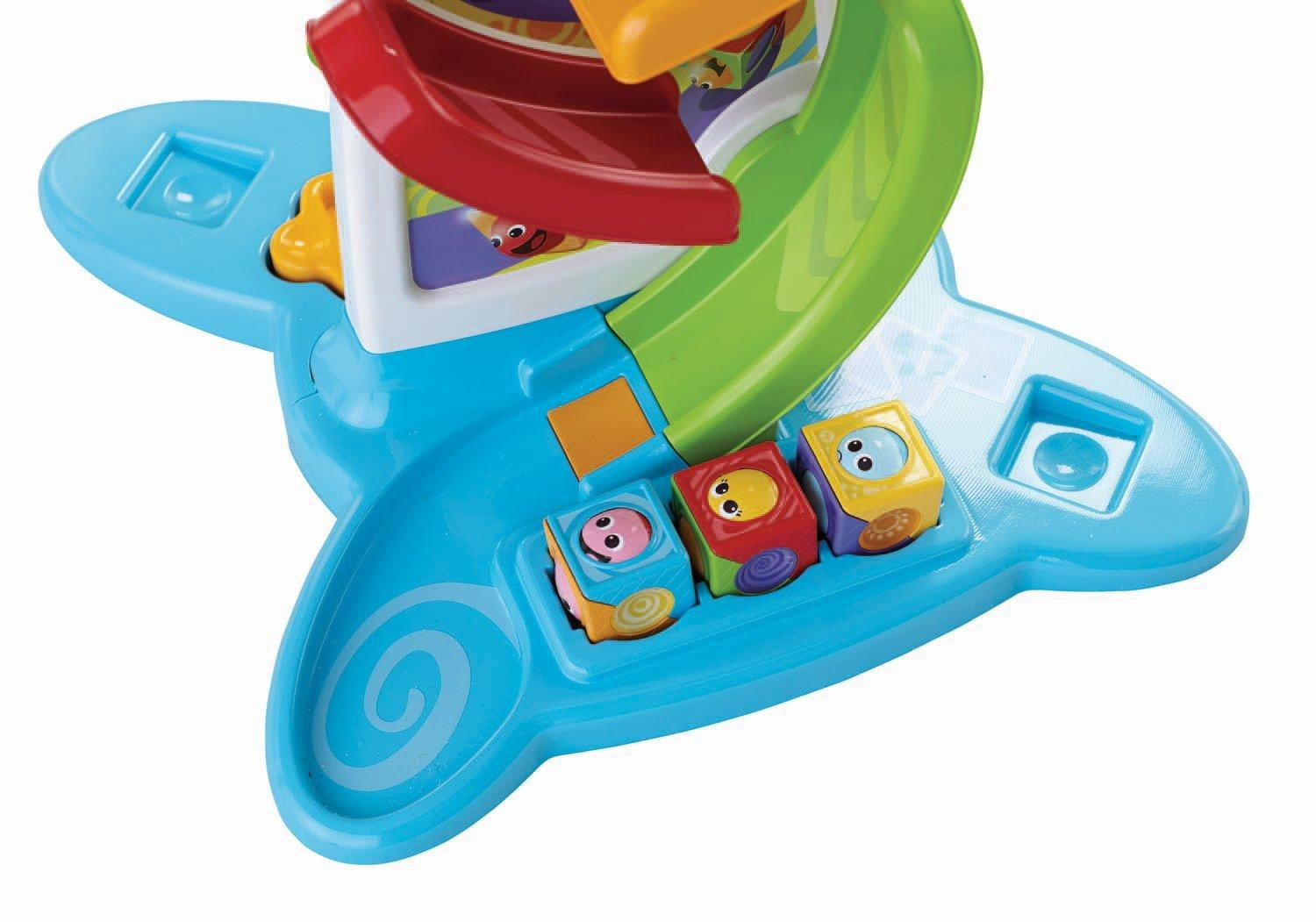 Amazon Com Fisher Price Roller Blocks Play Wall Toys Amp Games