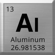Sleek anodized aluminum