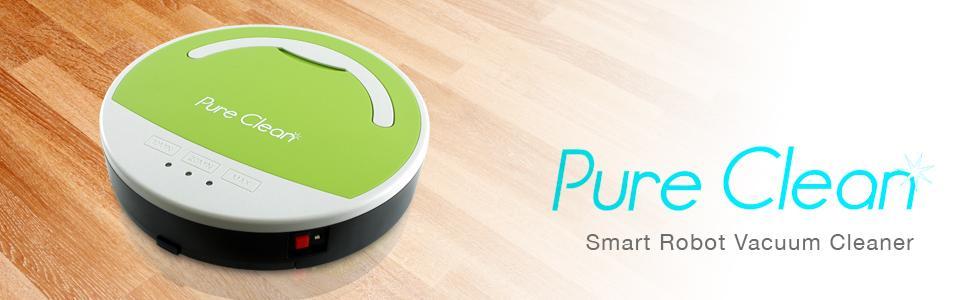 smart robot vacuum pure clean