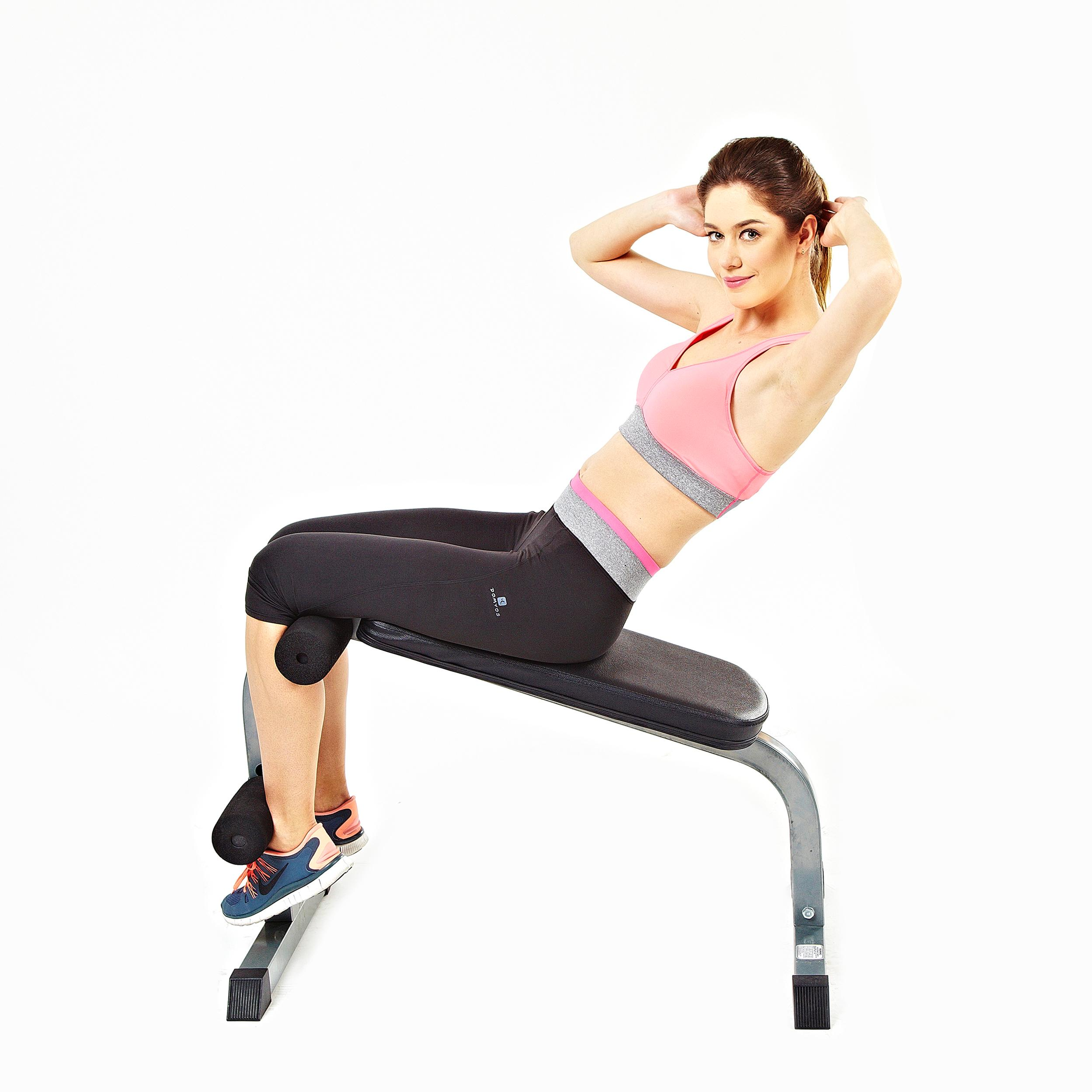 Buy Sit Up Bench Abs Training Ab Rollers Pull Spring: Amazon.com : Sunny Health & Fitness SF-BH6502 Heavy Duty