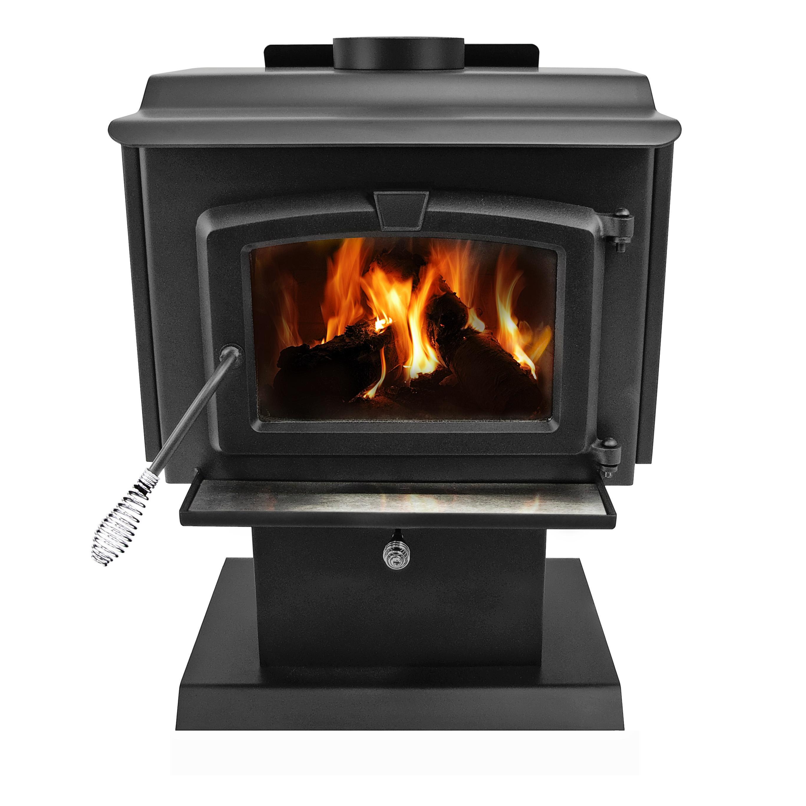 Hearth And Cabinets More: Amazon.com: Pleasant Hearth 1,200 Square Feet Wood Burning